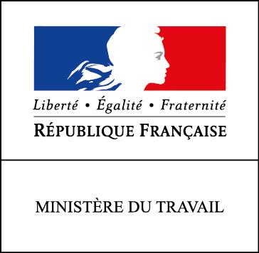 logo ministere travail